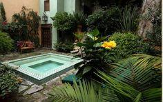 Garden - Susurro Bed and Breakfast, San Miguel de Allende, Mexico