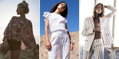 20 tendances mode printemps été 2018 à suivre Cosmopolitan, Military Fashion, Suits You, Body Types, Rose, Kimono Top, My Style, Womens Fashion, Style Summer