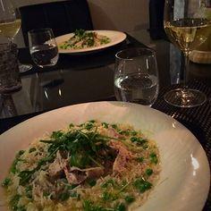 Täydellinen kana-herne risotto Risotto, Ethnic Recipes, Food, Hoods, Meals