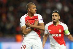 @Monaco Kylian #Mbappe et Radamel #Falcao #UCL #Monaco #Champions #LigadeCampeones #ChampionsLeague #ASMBVB #MonacoDortmund #ASMonaco  #AllezMonaco #DagheMunegu #9ine
