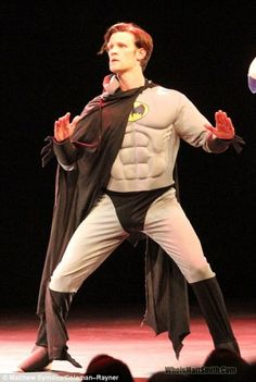 The Doctor got dressed up as Batman... your argument is invalid.