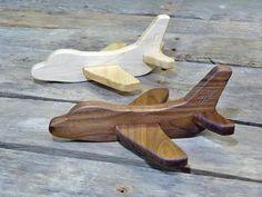 Avión de juguete de madera avión de juguete grabado avión