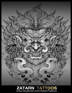 Find the perfect tattoo artist to create the work of art that is you Body Art Tattoos, Tattoo Drawings, Hand Tattoos, Sleeve Tattoos, Khmer Tattoo, Thai Tattoo, Thailand Tattoo, Thailand Art, Hannya Maske Tattoo