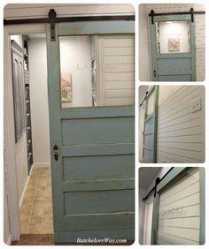 Planked wall + door from TPK? Barn door by Batchelor's Way