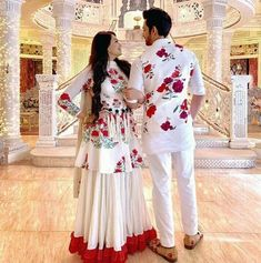 The Fire and Ice Retro Look Couple Wedding Dress, Wedding Dresses Men Indian, Indian Gowns Dresses, Bridal Dresses, Pakistani Dresses, Girls Dresses, Designer Party Wear Dresses, Indian Designer Outfits, Indian Outfits