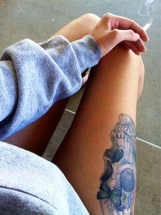 Thigh Skull