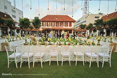 Top Lokasi Pernikahan Outdoor di Jakarta - the bride dept gedung arsip outdoor wedding venue jakarta