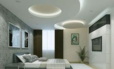 55 Modern POP false ceiling designs for living room pop design for hall 2020 Bedroom False Ceiling Design, Bedroom Ceiling, House Ceiling, Design Bedroom, Bedroom Ideas, Pop Design, Design Ideas, Home Renovation, Plaster Of Paris Design
