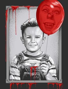 ÇA - IT - Georgie et Pennywise dans le ballon Stephen King It, Films Stephen King, Steven King, Best Horror Movies, Classic Horror Movies, Scary Movies, Horror Posters, Horror Icons, Movie Posters