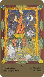 Hanged Man from the Kazanlar Tarot at TarotAdvice Major Arcana, Tarot Reading, Tarot Decks, Tarot Cards, Art Gallery, History, Image, Tarot Card Decks, Art Museum