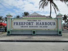 Freeport is a city, district and free trade zone on the island of Grand Bahama of the northwest Bahamas. In 1955, Wallace Groves, a Virginian financier with lumber interests in Grand Bahama, was granted 50,000 acres (20,234 ha) of pineyard with substantial areas of swamp and scrubland by the Bahamian government with a mandate to economically develop the area Bahamas Honeymoon, Bahamas Vacation, Vacation Trips, Bahamas Cruise, Vacation Places, Vacation Destinations, Cruise Port, Cruise Travel, Find A Cruise
