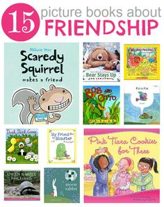 List of books about friendship from @Allie @ No Time For Flash Cards