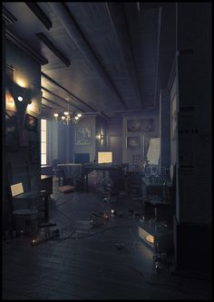 Enticing interior of dark history and eerily luminescent modernity Ancient Area Network by Eimer X Environment Concept, Environment Design, Cyberpunk, Place Rouge, The Garden Of Words, Shadowrun, Environmental Art, Nocturne, Futuristic