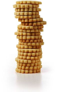 The recipe for these buttery shortbread cookies comes from Dorie Greenspan's Paris Sweets.