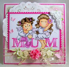 Created by Mandy for the Simon Says Stamp Wednesday challenge (Mother's Day or Favorite Girl) March 2014