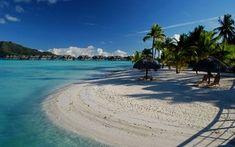 Bora Bora - Paradise has to look a little like this. ~  I'd Rather be at the Beach  Greece Beach Acesse Nosso Site Muito Mais Informações http://storelatina.com/greece/travelling   #vacaciones #ギリシャ #grækenland #กรีก