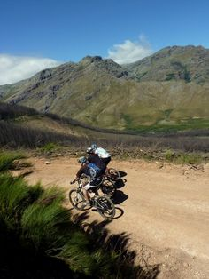 Stellenbosch is a fantastic region for mountain biking in South Africa. It's beautiful and has great terrain.