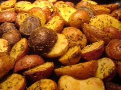 Roasted Medly Potatoes