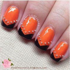 halloween by mydaintynails #nail #nails #nailart