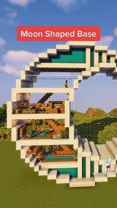 Minecraft Mansion, Minecraft Cottage, Cute Minecraft Houses, Minecraft Plans, Minecraft House Designs, Minecraft Survival, Amazing Minecraft, Minecraft Tutorial, Minecraft Blueprints