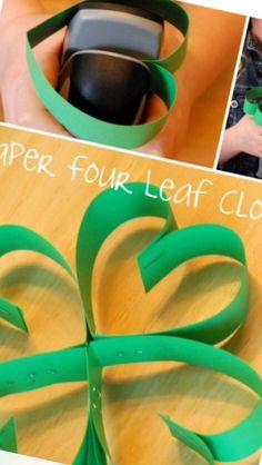 Klavertje vier Flower Power, Paper, School, Crowns, Schools