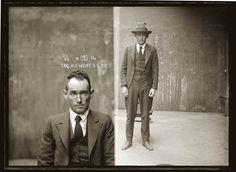 Portraits de criminels australiens dans les années 1920 photo police sydney australie mugshot 1920 35