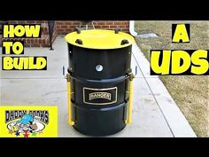 Building my first Ugly Drum Smoker (UDS); from beginning to completion! Uds Smoker, Barrel Smoker, Grill Design, Deck Design, Build Your Own Smoker, Brisket Injection, Injection Recipe, Smoker Designs, Ugly Drum Smoker