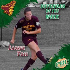 Women's Soccer Defender of the Week: Lauren Yoss, Armstrong State
