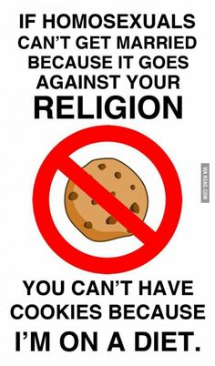 If same-sex marriage is against your religion . - So True - Religion Frases Lgbt, Lgbt Quotes, Lgbt Memes, Funny Memes, Funny Quotes, Equality Quotes, Hilarious, Lgbt Love, Faith In Humanity