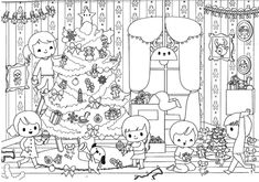 Des coloriages de Noël