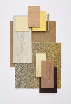 Fusion: a creative, sustainable flooring solution combining Desso's carpet offering with Tarkett's luxury vinyl tile collection Material Board, Mood And Tone, Shabby Chic Baby Shower, 3d Texture, Luxury Vinyl Tile, Concept Board, Collage, Colour Board, Mood Boards