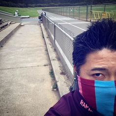 Too lazy to put on makeup this morning and wore a mask instead🚴🏻♂️🛴🛴🐩 Track Cycling, Golden Gate Park, Putting On Makeup, Hiit, Put On, Lazy, Kicks, Workout, How To Wear