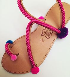 Handmade leather sandals  By Bliss Follow us in Facebook Greek Designer