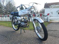 One ride in December. Wards Riverside 450-SS