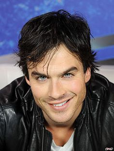 THOSE EYES!!!! Ian Somerholder :) You can be my vampire any day :)