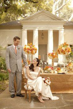 white, cream and coral wedding decor inspired by interior design, Moody Estate in Santa Barbara, California, florals by Louloudi Design, wedding invitations and paper by Zenadia Design, photo by Allyson Magda