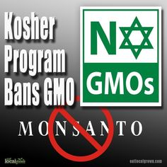 "Kosher Certification Bans All GMO Ingredients - ""Apple K"" kosher certification"