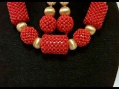 the video tutorail on how to make this beautiful  spiral and red  bead - YouTube