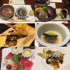 This is what I #enjoyed during #yufuin #Japan #trip for #food !!  It's very #delicious and nicely prepared. So #satisfied #dinner  #travelgram #travelist #travel #diner #foodie #kaiseki #ryokan #유후인 #가이세키 #료칸 by mary_gogogo
