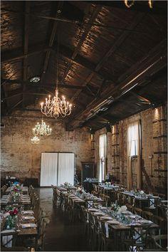El Green Building en Brooklyn NY es un escenario ideal para una boda industrial