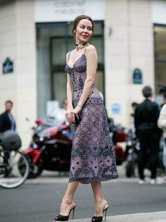 oh stop it. so stunning. Ulyana in Paris. #UlyanaSergeenko
