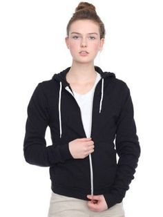 American Apparel Unisex Flex Fleece Zip Hoody
