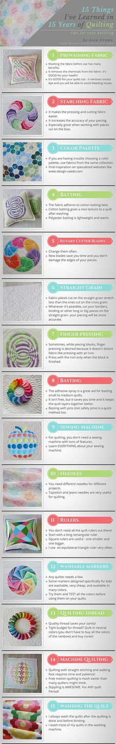 15 Quilting Tips I've Learned in 15 Years of Quilting