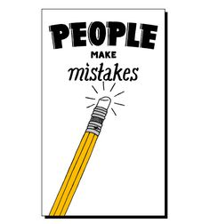 Mistakes  #words #design