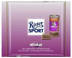 Ritter Sport Whiskas - http://www.dravenstales.ch/ritter-sport-whiskas/