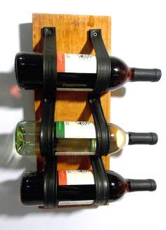 Bike Tube Wine Bottle Holder