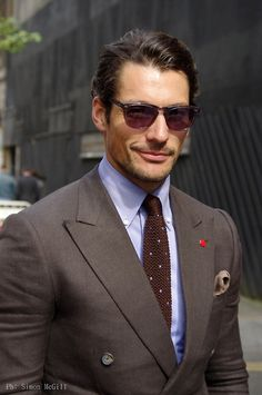David Gandy outside Oliver Spencer show, London Collections: Men SS 2014, Day 2, 17 June 2013, Old Sorting Office, Bloomsbury, London
