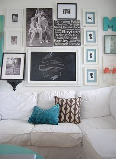 how to make a gallery wall #gallerywall