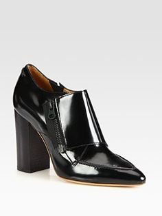 Phillip Lim - Delia Leather Ankle Boots