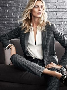 Anja Rubik for Massimo Dutti Fall Winter 2014 _